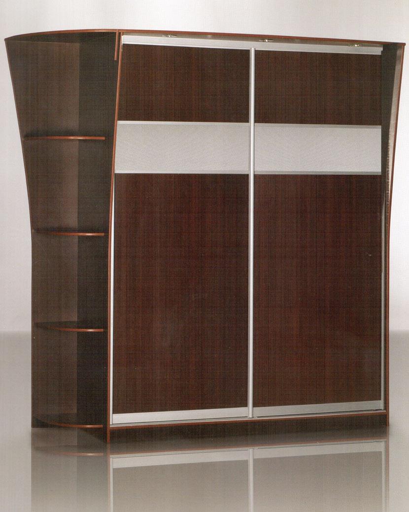 Современные шкафы купе концепт 9 с декором или матовым рисун.
