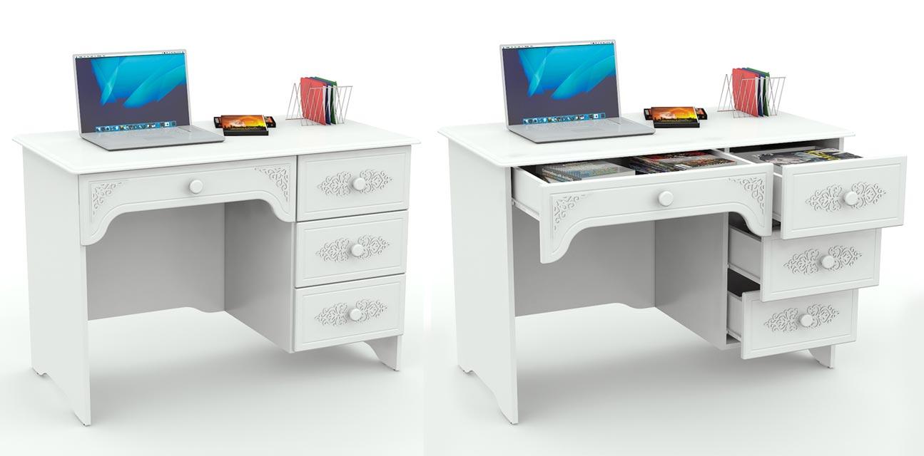 Ассоль стол письменный ас-06 купить в интернет-магазине исто.