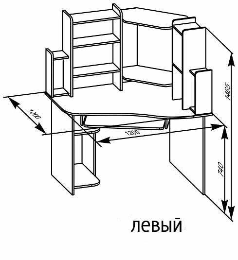Компьютерные столы угловые своими руками чертежи